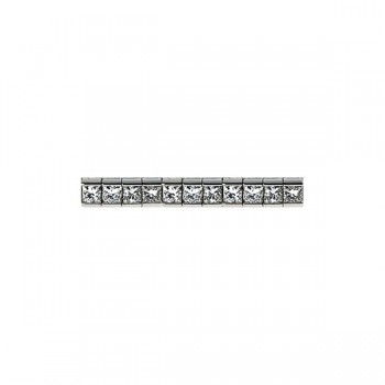 Sasha Primak Channel-Set Princess-Cut Diamond Bracelet