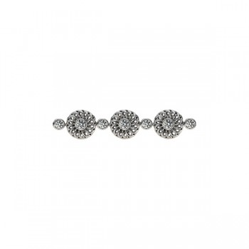 Sasha Primak Trellis Collection Round Diamond Bracelet