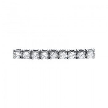 Sasha Primak Four-Prong Round Diamond Basket-Set Bracelet