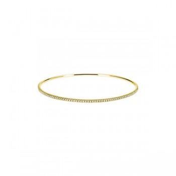 Sasha Primak Pave Diamond Eternity Bangle Bracelet