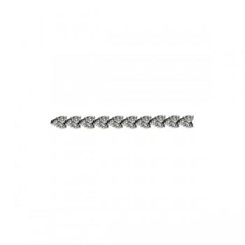 Round Diamond Chevron Bracelet