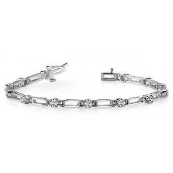.72 ct Diamond Bracelet