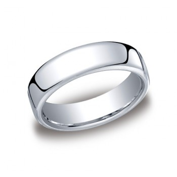 Classic White Gold 6.5mm Band