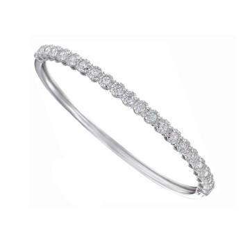 Memoire Oval Diamond Bracelet