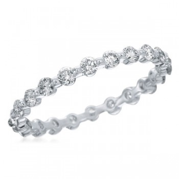 Memoire Prong set matching diamond Band (MBQ14MB-.75 MBQ14ER-.33 and MBQ14ER-.50) MBQ14MB-0075TW