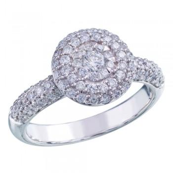 Memoire Pave Diamond Ring MBQ16ER-0150TW