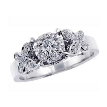 Memoire Diamond Butterfly Ring