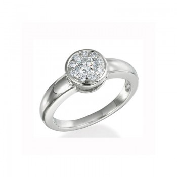 Memoire Bezel Set Diamond Ring