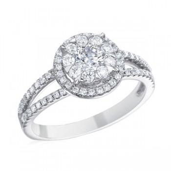 Memoire Designer Diamond Engagement Ring MBQ97R-0060TW