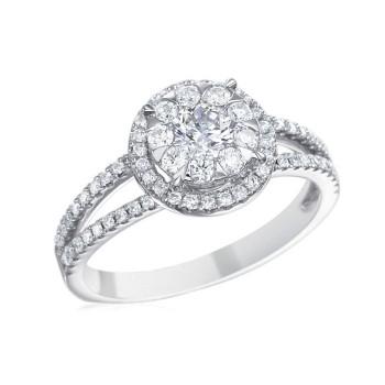 Memoire Designer Diamond Engagement Ring