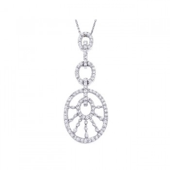 DA Gold Diamond Necklace N2754/W