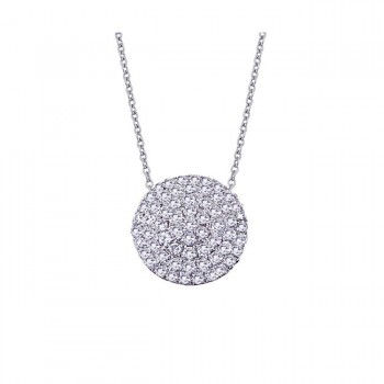 DA Gold Diamond Necklace N2784/W