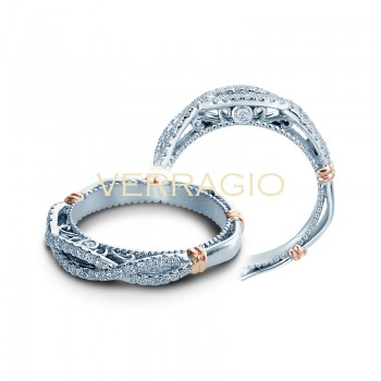 Verragio Parisian Collection Diamond Weding Band D-130W-GOLD