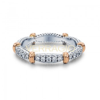 Verragio Parisian Collection 14k Gold Wedding Ring D-W102-GOLD