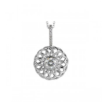 Sasha Primak Trellis Collection Diamond Pendant