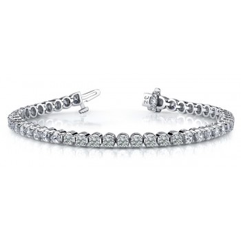4.34 Carat Diamond Tennis Bracelet