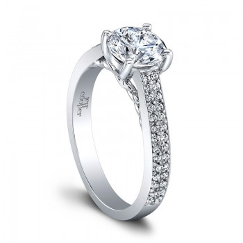 Jeff Cooper Amber Engagement Ring