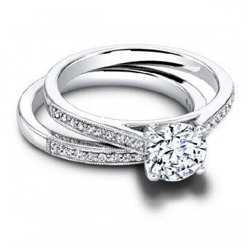 Jeff Cooper Henriette Round Engagement Ring