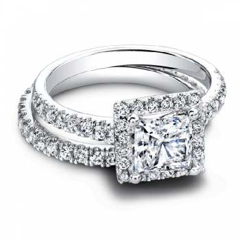 Jeff Cooper Tate Princess Et. Engagement Ring