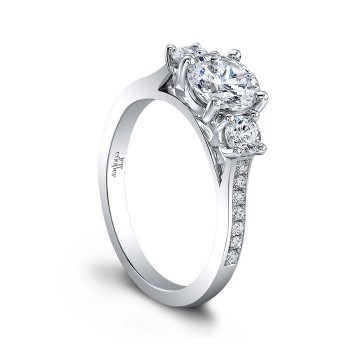Jeff Cooper Cassidy II Engagement Ring