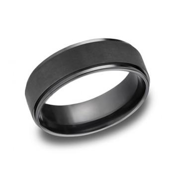 Forge Black Titanium 7mm Band