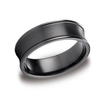 Forge Black Titanium 7.5mm Band