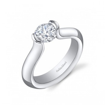 Gelin & Abaci Tension Set Engagement Ring TR-248