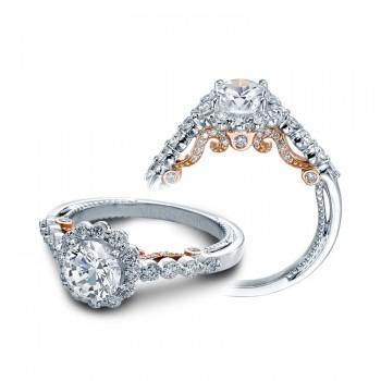 Verragio Halo Pave Diamond Engagement Ring
