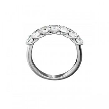 "Sasha Primak Asscher-Cut Diamond ""Trellis"" Seven-Stone Ring"