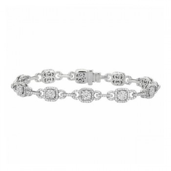 Martin Flyer Wedding Day Jewelry Bracelet BPS04SCUYQ-D