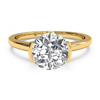 Ritani Solitaire Ring 1RZ1065CRWG-6