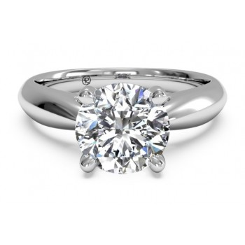 Ritani Solitaire Ring 1RZ7241CWG-6