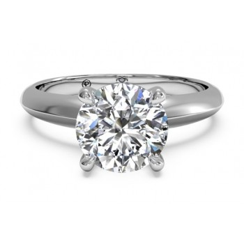 Ritani Solitaire Ring 1RZ7264CRWG-6