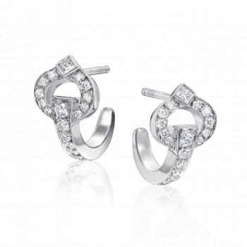 Large Fashion Diamond Earrings