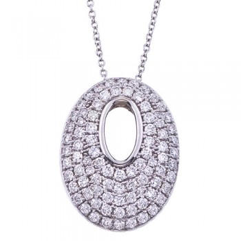 1.05 Carat Diamond Necklace