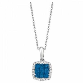 Martin Flyer Precious Trends Colored Gemstone Pendant PIS02SAQ-F