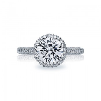Tacori Simply Tacori Collection Triple Row Engagement Ring 2502RDP75