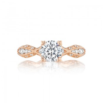 Tacori Pretty in Pink Collection Round Cut Ring 2578RD6512PK