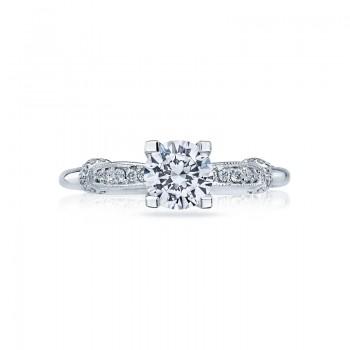 Tacori Simply Tacori Collection Contemporary Platinum Ring 2615RD6