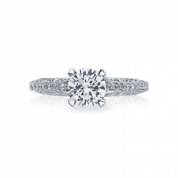 Tacori Classic Crescent Collection Diamond Crescent Ring 2616RD65