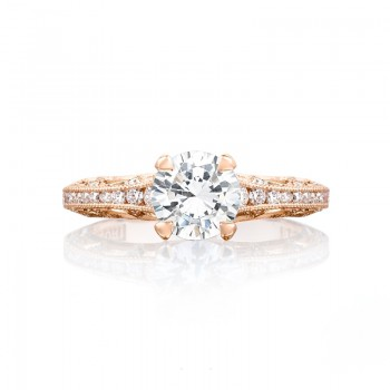 Tacori Pretty in Pink Collection Round Cut Ring 2617RD65PK