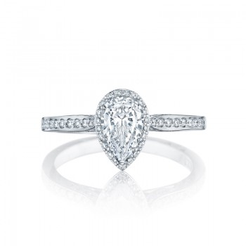 Tacori Dantela Collection Pear Cut Ring 2620PS8X5P