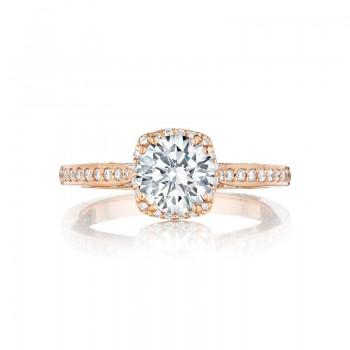 Tacori Pretty in Pink Collection Unique Setting Engagement Ring 2620RDSMPPK