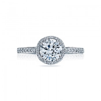 Tacori Dantela Collection High Polished Ring 2639RDP65