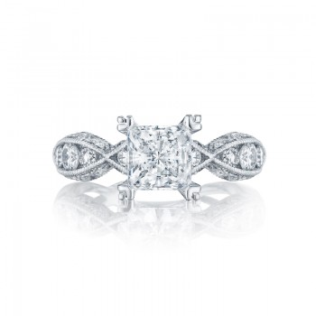 Tacori Classic Crescent Collection Twisted Engagement Ring 2644PR6512