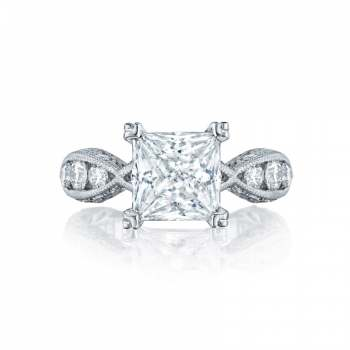 Tacori Classic Crescent Collection Twisted Engagement Ring 2644PR834