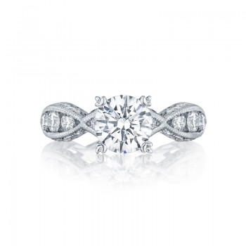 Tacori Classic Crescent Collection Solitaire Ring 2644RD7512