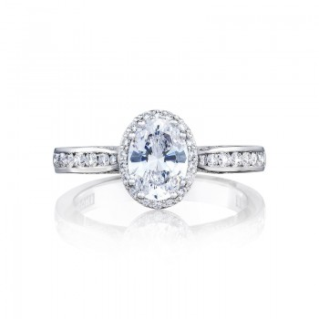 Tacori Dantela Collection Oval Diamond Ring 2646-25OV75X55