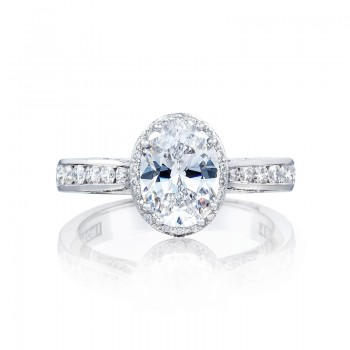 Tacori Dantela Collection Engagement Ring 2646-3OV85X65