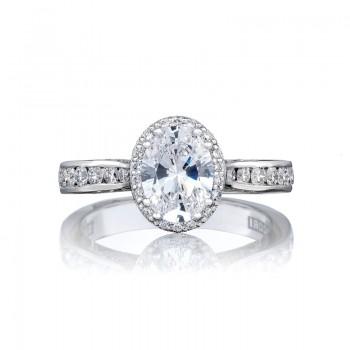 Tacori Dantela Collection Engagement Ring 2646-3OV8X6